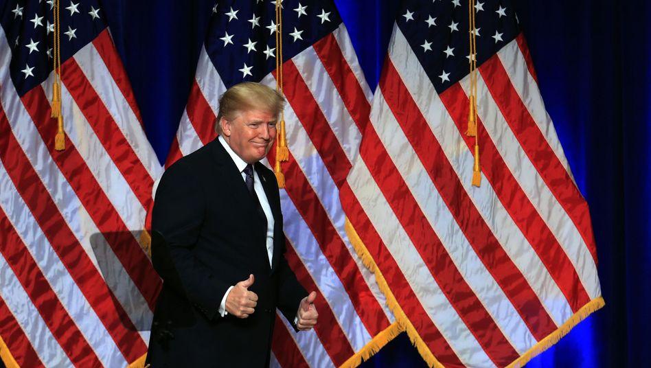 US-Präsident Donald Trump hat Zugeständnisse gemacht, so konnte er letztlich auch noch den einen oder anderen kritischen Republikaner auf seine Seite ziehen
