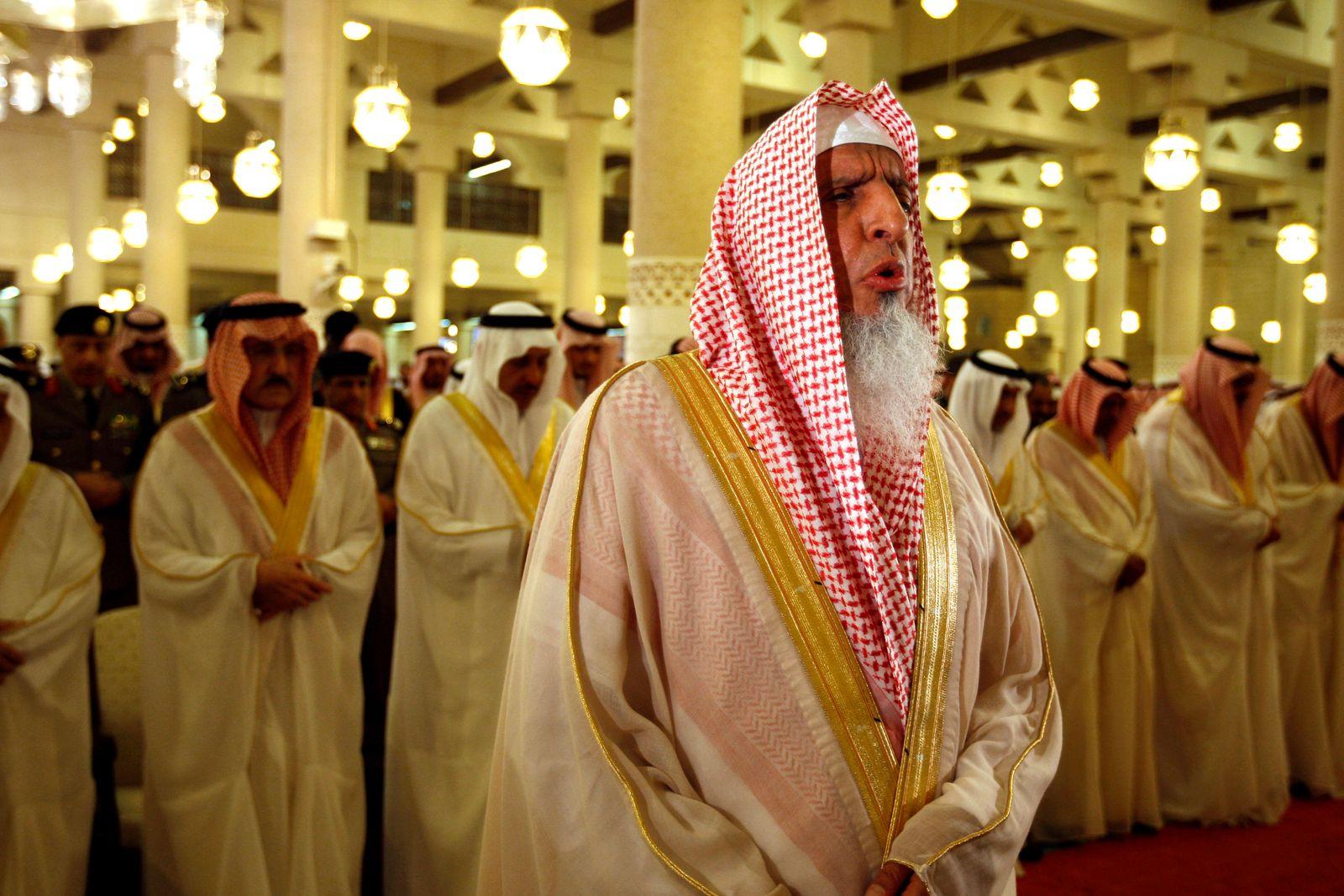 Mideast Saudi Arabia/ Sheik Abdul-Aziz Al-Sheik