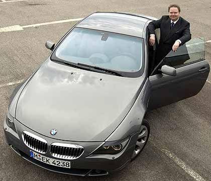 """EnBW-Chef Claassen: """"Das neue BMW-Coupé lebt vor allem von seinem individuellen Charakter."""""""