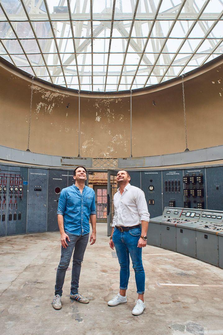 Hometogo-Gründer Patrick Andrä (l.) und Wolfgang Heigl