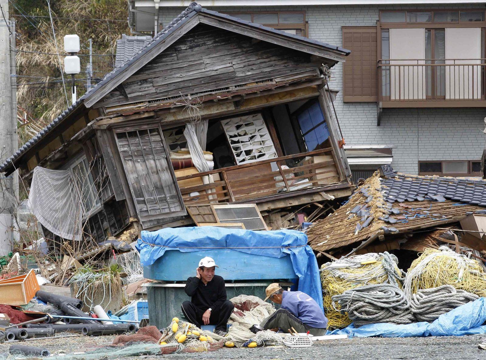Japan Erdbeben Wiederaufbau