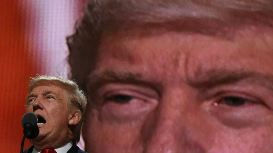Viele Worte, wenig Inhalt: Präsidentschaftskandidat Trump auf dem Parteitag der Republikaner