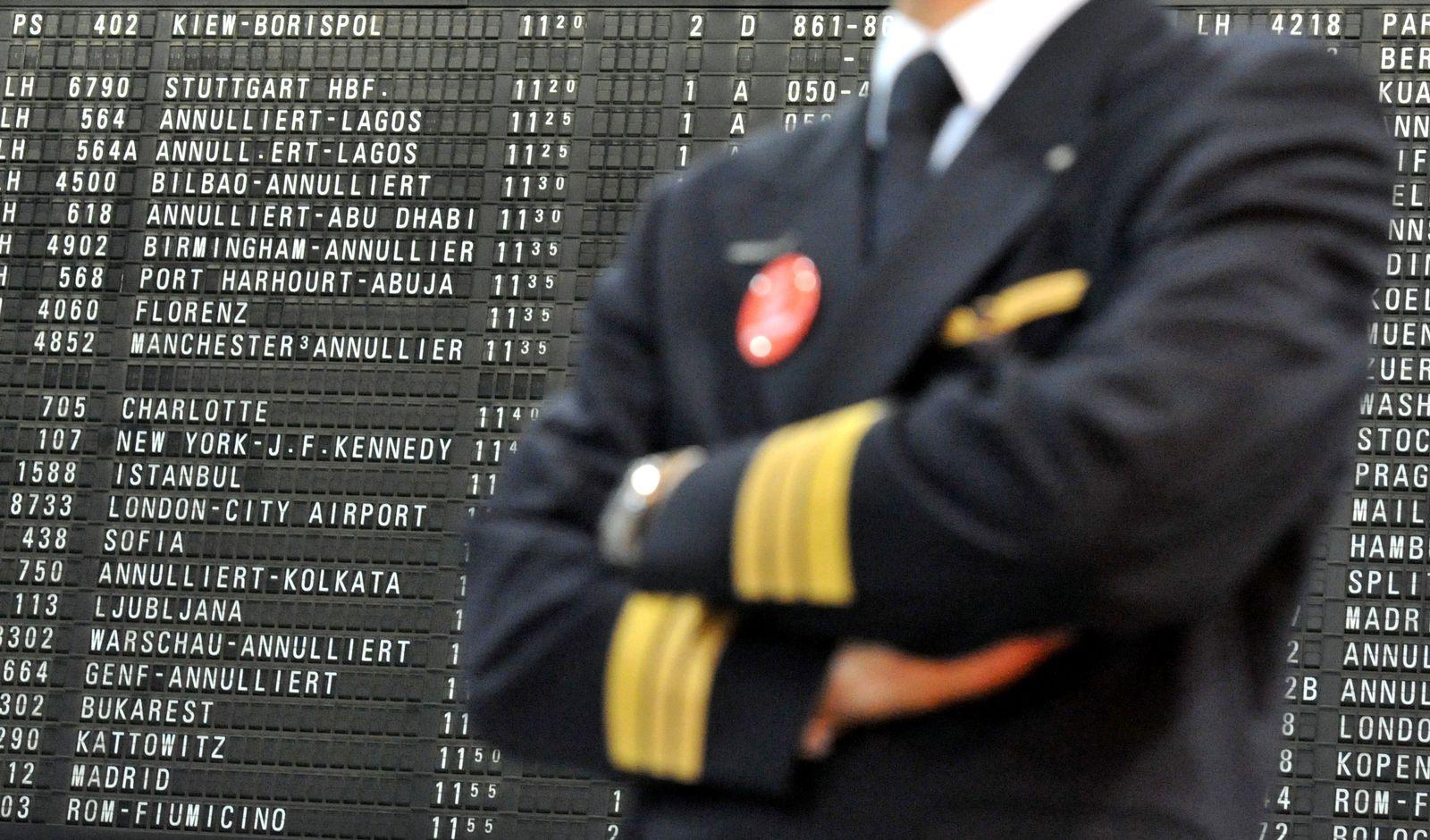Lufthansa/ Pilotenstreik