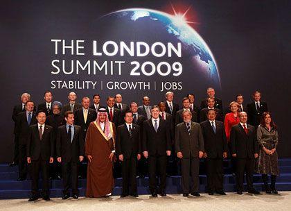 Staatslenker auf der Bühne: Obama überragt die meisten