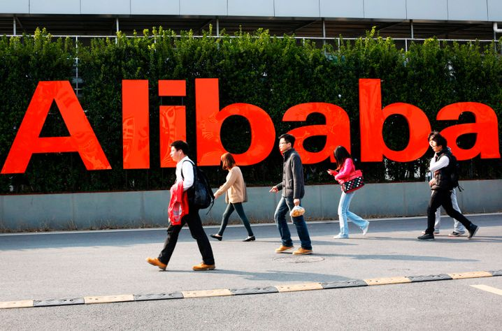 Alibaba-Zentrale in Hangzhou: Viele Mitarbeiter sind jetzt Aktienmillionäre