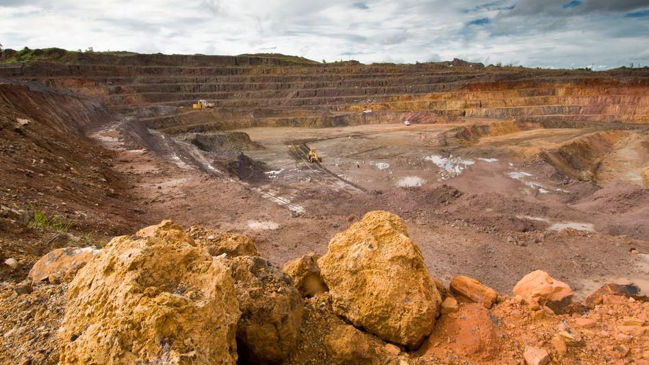 Mine des Rohstoffkonzerns Glencore: Mit den zehn Milliarden Dollar Börsenerlös will der Konzern weiter zukaufen