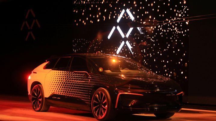 Highlights der Elektronikmesse CES: Faraday - der Tesla-Fighter aus China