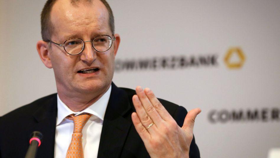 Commerzbank-Chef Martin Zielke: Das Ziel, wie im Vorjahr einen Gewinn von rund einer Milliarde zu erzielen, ist nicht mehr zu schaffen