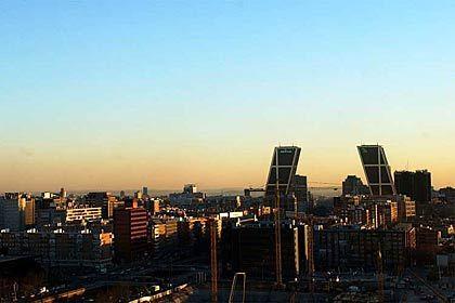 Wirtschaftsstandort Madrid: Wachstumstempo gebremst, Börse legt zu