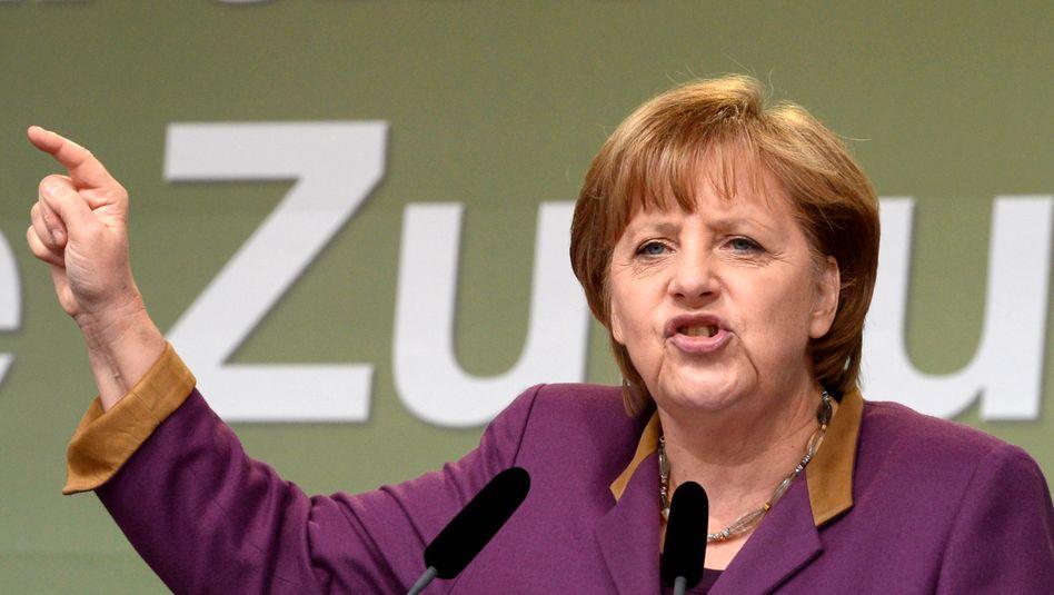 "Bundeskanzlerin Angela Merkel: Fiskalpakt ""ist nicht neu verhandelbar"""