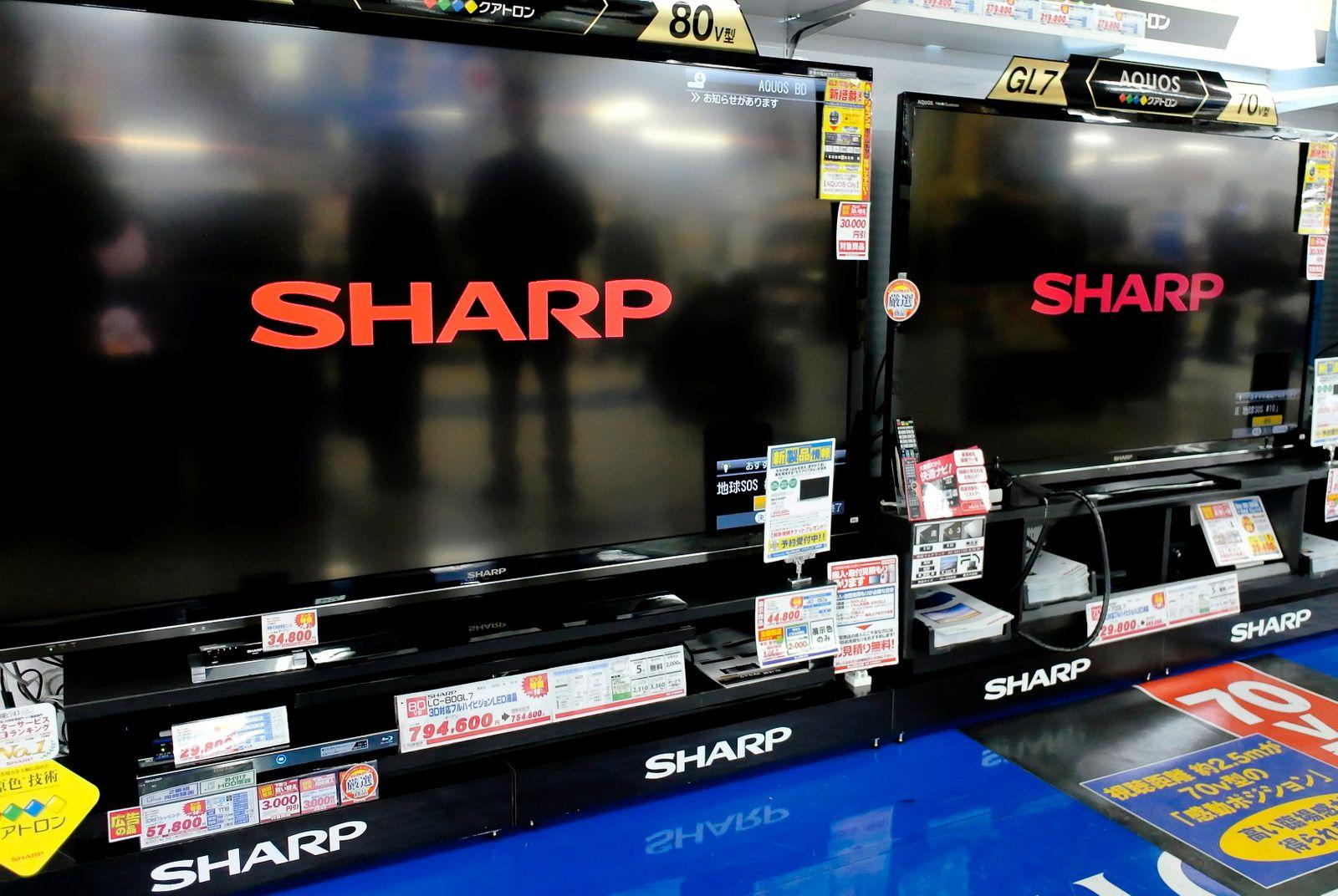 Sharp Corp. earnings