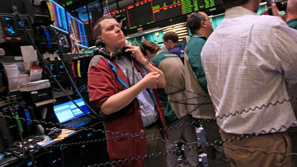 Händler an der Rohstoffbörse in New York: Mit ETFs lässt sich in Aktien, Rohstoffe, Rentenpapiere und vieles mehr investieren