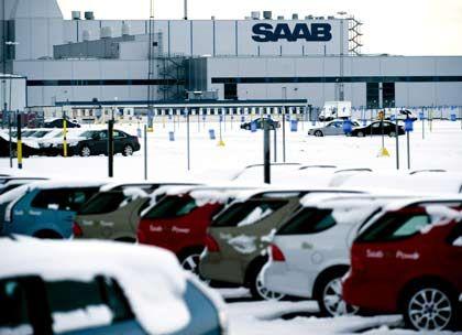 Vor dem Aus: Saab-Produktion in Trollhättan