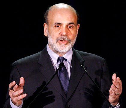 "In Sorge: Fed-Chef Bernanke erkennt eine ""Ruhe vor dem Sturm"""
