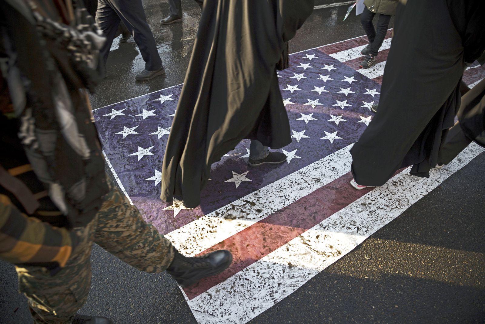 Konflikt Iran - Trauerfeier Soleimani