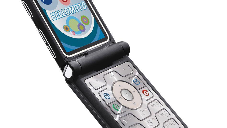 "Motorola: Erfolg mit dem ""Razr"""
