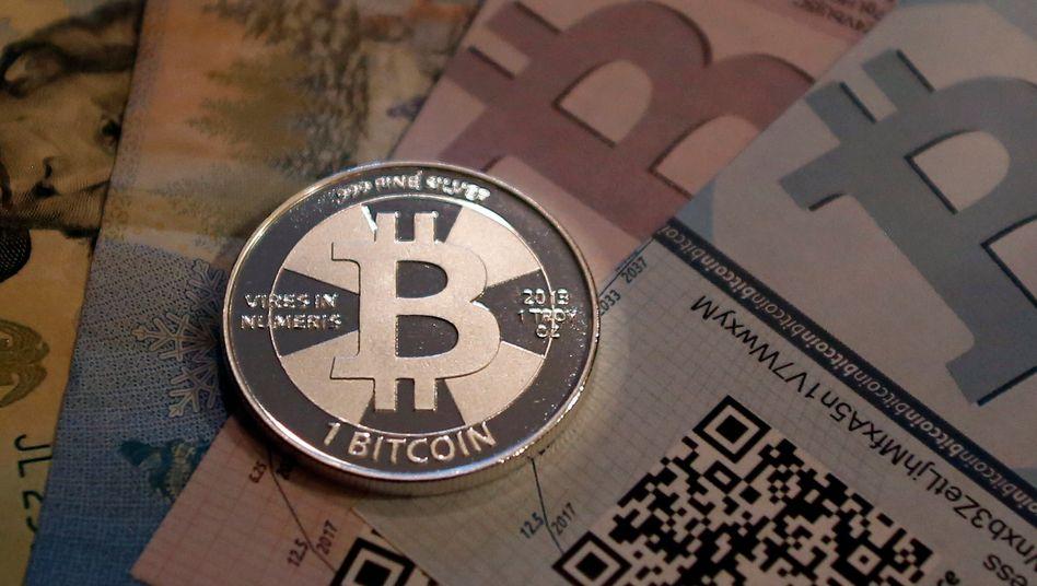 Die bekannteste Cyberwährung, der Bitcoin