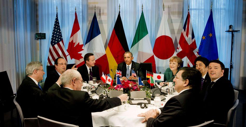 """G7-Vertreter in Den Haag: """"Erhebliche Konsequenzen"""""""