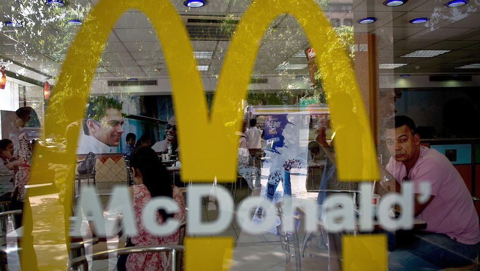 McDonalds-Filiale in Neu Delhi