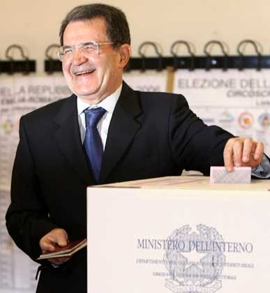 Wer zuletzt lacht: Romano Prodi