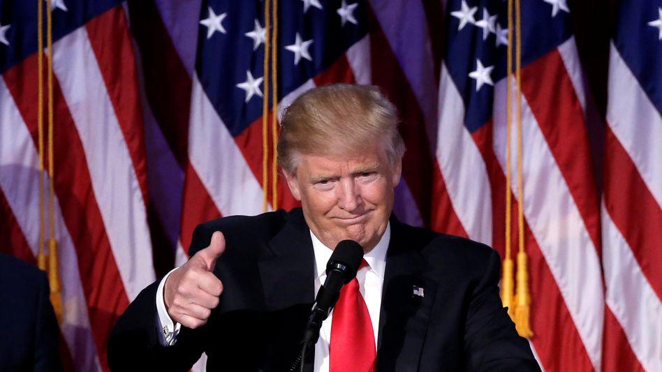 Ego mit Faktor 100: Trump ist der disruptive Störer. Ob das gut oder schlecht ist, werden die nächsten Jahre zeigen. Doch Innovation beginnt genauso - in der Wirtschaft wie in der Politik