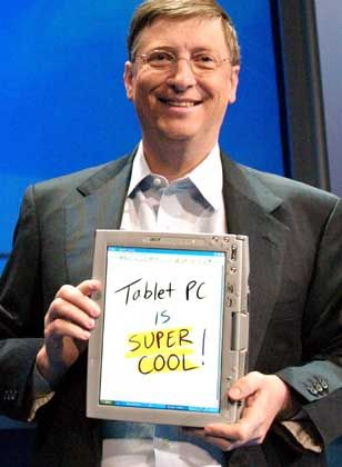 Noch ein Flop: Die Tablet PC Edition war den Käufern einfach zu teuer