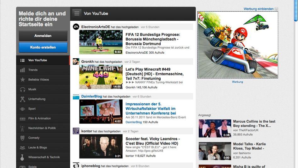 Die Videoplattform YouTube will künftig mit eigens produzierten, professionellen Kurzfilmen punktne