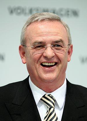 Erwartet mehr Effizienz:Volkswagen-Chef Winterkorn