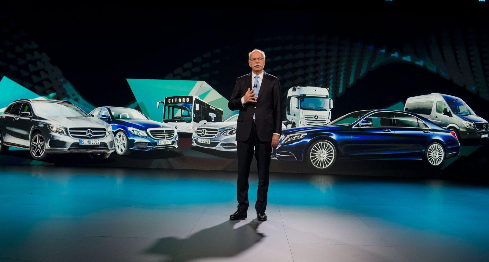 Zetsche / Daimler / Mercedes V-Klasse