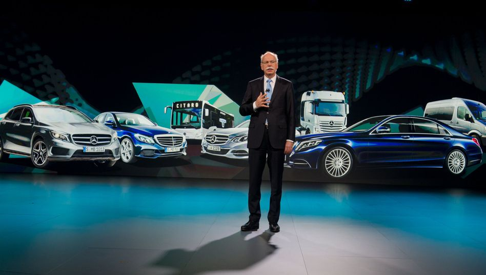 Dividenden-Mann: Daimler-Chef Dieter Zetsche hat seinen Aktionären in dieser Woche eine Rekorddividende versprochen. Er ist nicht der einzige