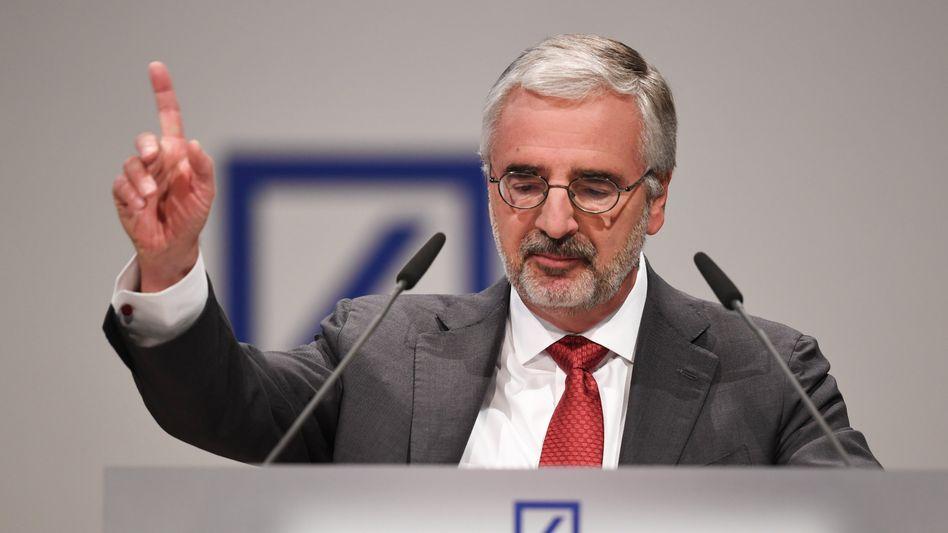 Paul Achleitner, Aufsichtsratsvorsitzender der Deutschen Bank