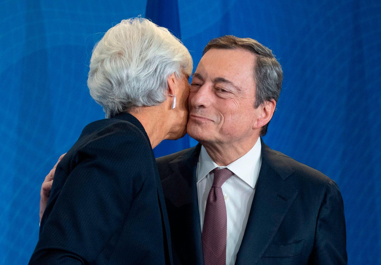 Mario Draghi / Lagarde