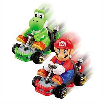 Ventil für Zwischendurch: Yoshi und Mario fordern zum Bürorennen heraus