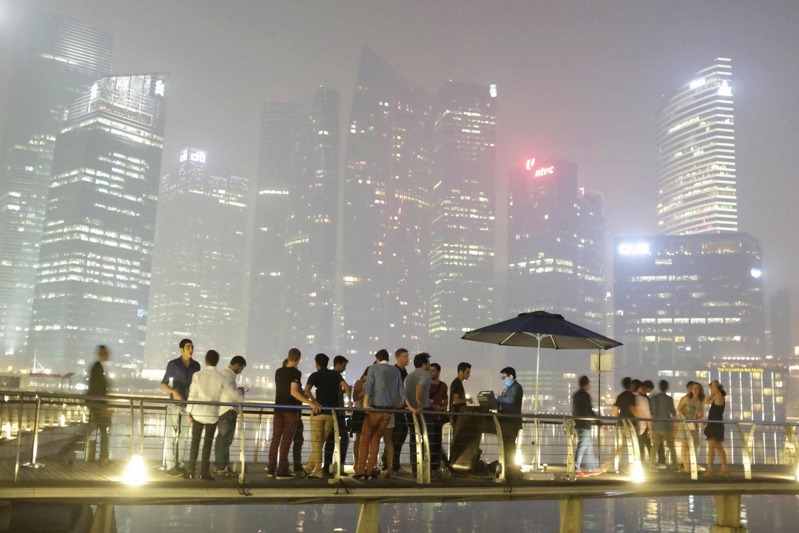Luftverschmutzung / Singapur