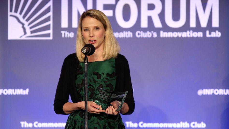 Yahoo-Chefin Mayer: Mit Brightroll gegen Google und Facebook