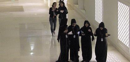 Studentinnen in Katar: In einem der reichsten Länder der Welt studieren 3000 Männer - und 6000 Frauen