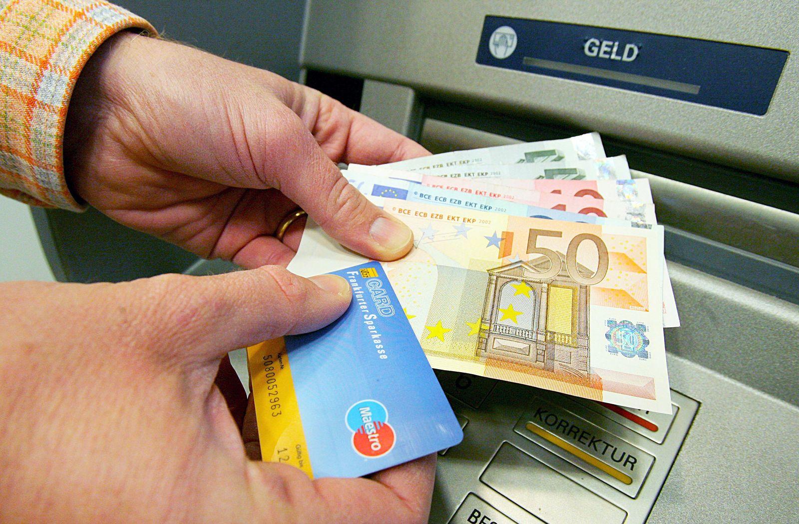 Bankkonto / Bankgebühren / Geldautomat