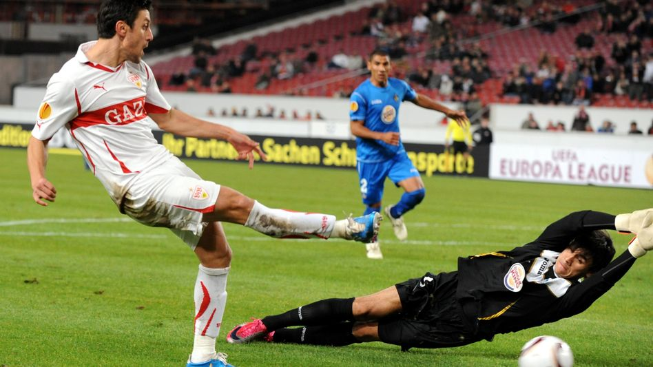 FC Getafe: Torwart Oscar Ustari (r.) hat neue Chefs aus Arabien