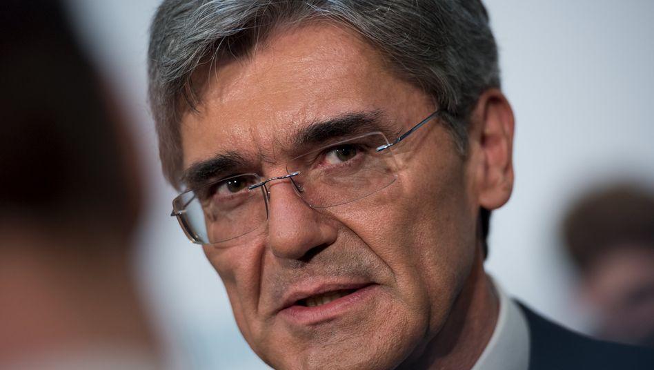 Einer der politischeren CEOs in Deutschland: Siemens-Chef Joe Kaeser