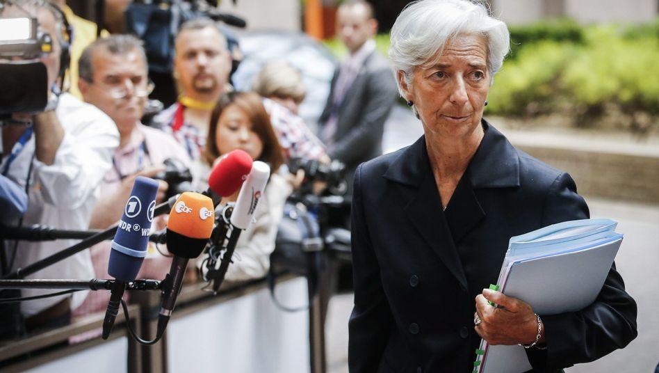 Zeit für einen Haircut: IWF-Chefin Christine Lagarde blickt der Wahrheit ins Auge