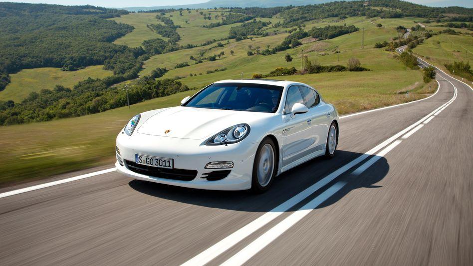 Porsches Panamera-Limousine