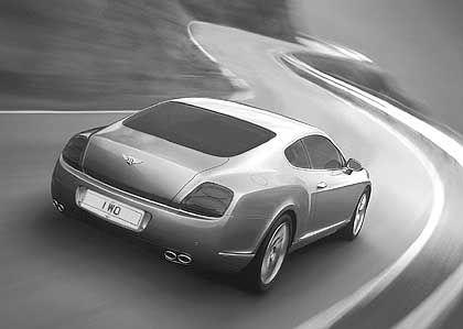 Bentley GT Coupe: Sportlichkeit und Raumökonomie