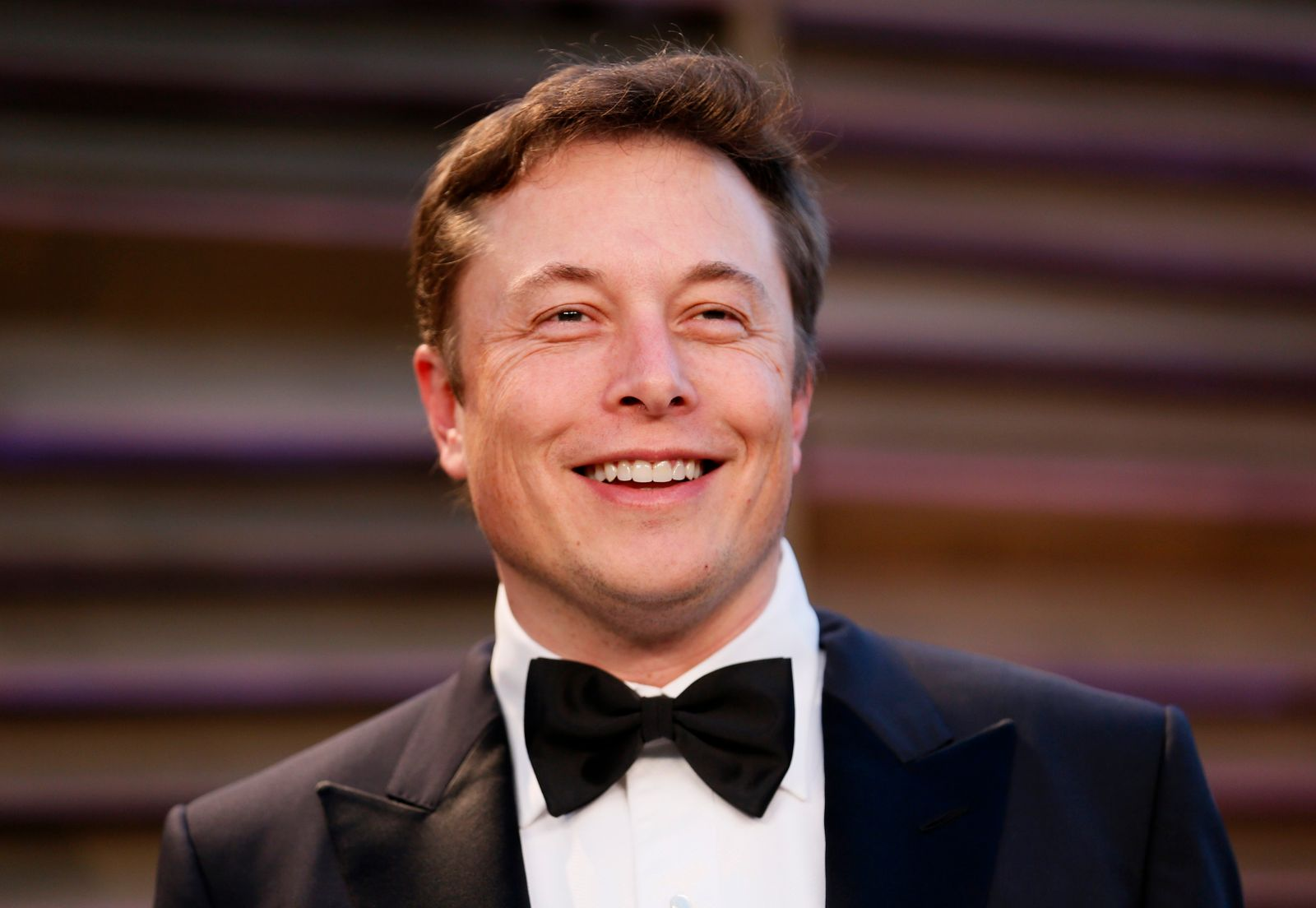 Chief Executive of SpaceX and Tesla Motors Elon Musk arrives at the 2014 Vanity Fair Oscars Party in West Hollywood