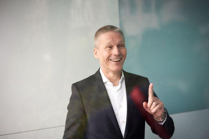 Deutliche Bremsspur: Vorstandschef Jan Mrosik hat es weder intern noch extern leicht