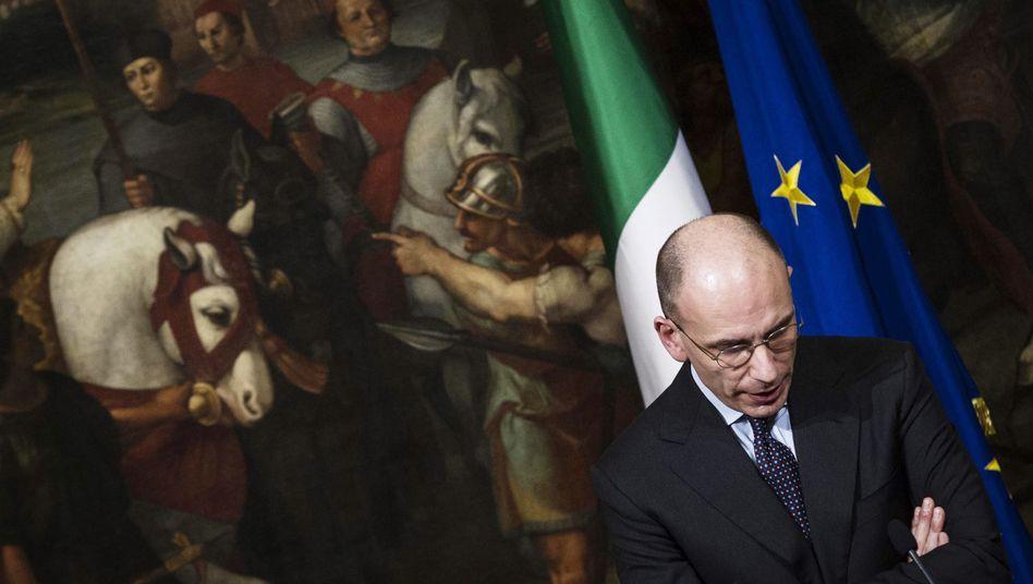 Enrico Letta: Italiens Regierungschef will am Freitag zurücktreten