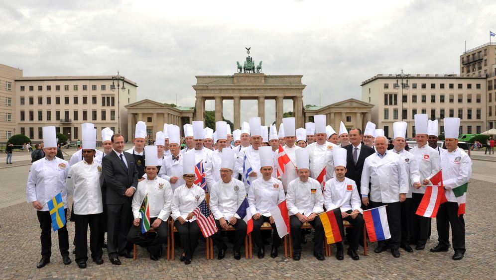Kulinarisches Gipfeltreffen: Sie kochen für die Mächtigen der Welt
