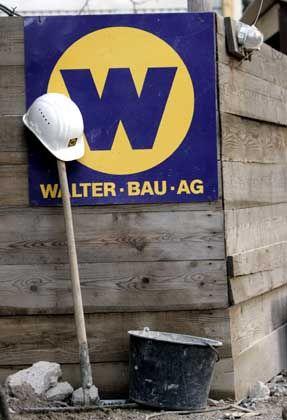 Überraschend hoher Abschlag: Walter-Bau-Baustelle