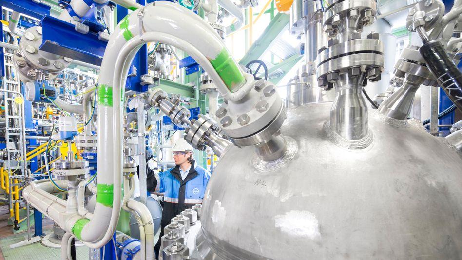 Kohlendioxid statt Öl: Cardyon-Anlage von Covestro in Dormagen