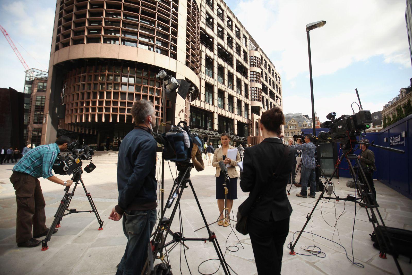 UBS / Festnehme / Journalisten