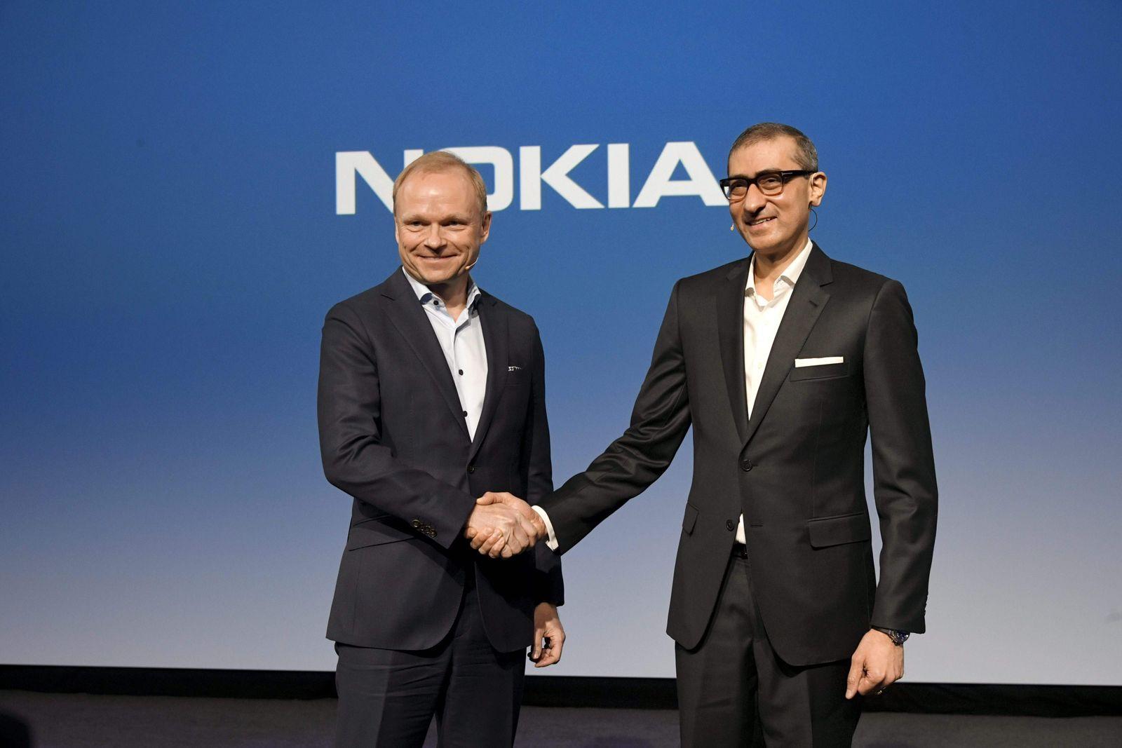 Nokia / Pekka Lundmark / Rajeev Suri